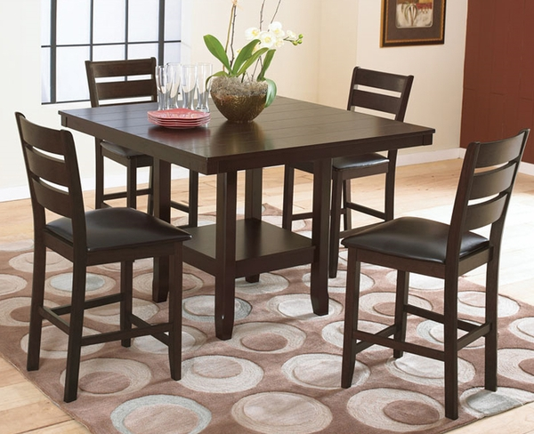Bradford 5-Pc Counter Height Dining Set