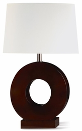 Bronze Finish Metal Base Table Lamp