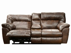 Nolan Chestnut Motion Loveseat