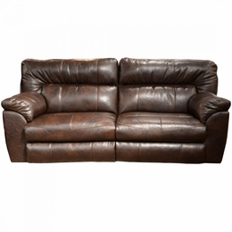 Nolan Chestnut Motion Sofa