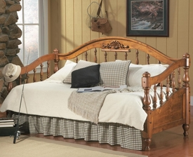 Brown Finish Twin Daybed