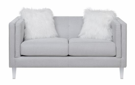 Hemet Light Grey Loveseat