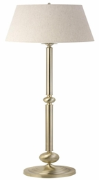 Brushed Finish Base Floor Lamp