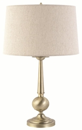 Brushed Finished Base Table Lamp