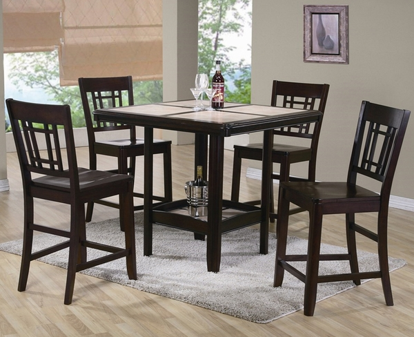 Cairo 5-Pc Counter Height Dining Set
