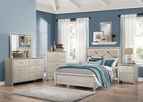 Lana 4-pc Bedroom Set