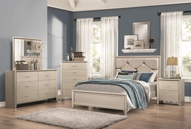Lana Silver Queen Bed
