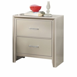 Lana Silver Nightstand