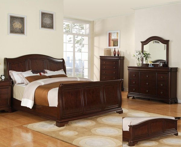 Cameron Bed (Low Footboard)