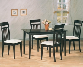 Cappuccino Dining Table # 4430