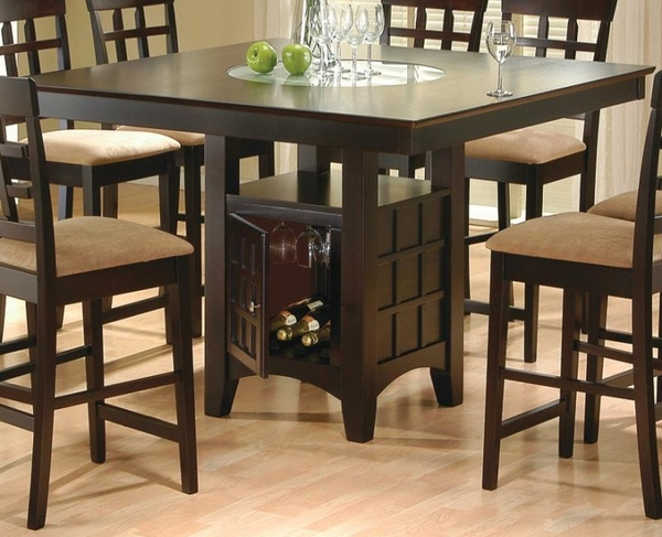 Counter Height Dining Table # 100438