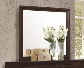 Cappuccino Finish Landscape Mirror