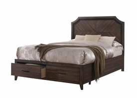 Richmond Grey Oak Bed