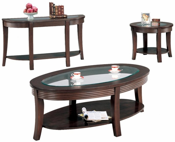 Cappuccino Finish Simpson Collection 3-pc Set