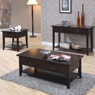 Cappuccino Finish Whitehall Collection 3-pc Set