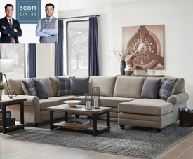 Summerland Reversible Sectional