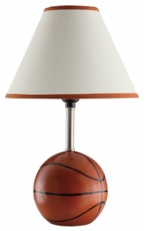 Ceramic Base Basketball Table Lamp