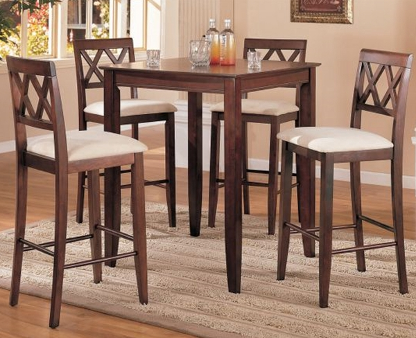Chelsea 5-Pc Bar Height Dining Set