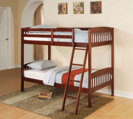 Cherry Finish Bunk Bed