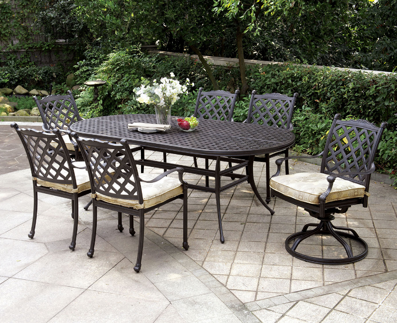 Garden Furniture 4 Less chiara patio setfurniture of america cm-ot2303 - designer