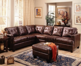 Samuel Leather Sectional # 500911