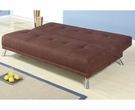 Chocolate Microfiber Adjustable Sofa