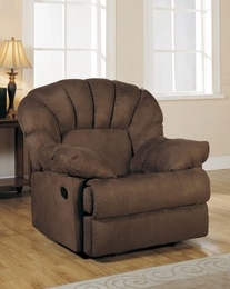 Chocolate Microfiber Recliner & Recliners - Living Room - Discount Designer Furniture 4 Less islam-shia.org