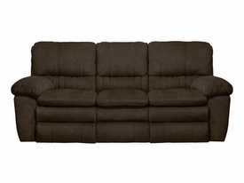 Reyes Chocolate Power Reclining Sofa