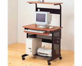 Computer Unit with Computer Storage and Casters