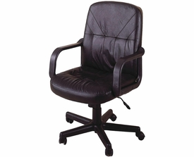 Contemporary Leather Office Task Chair