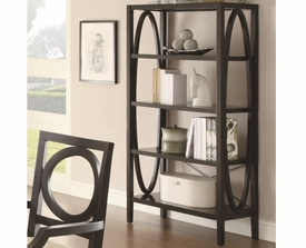 Geometric Design Open Bookcase