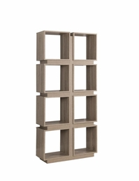 Dark Taupe Bookcase