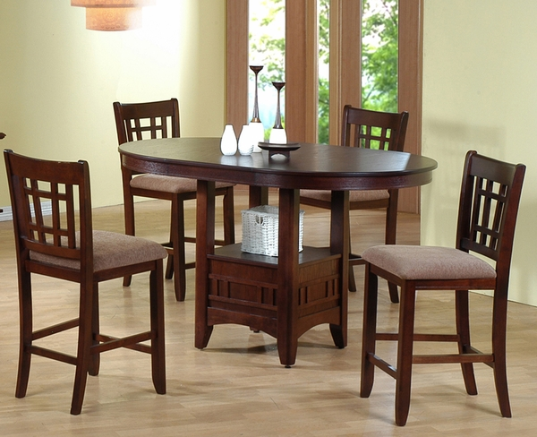 Counter Height 5-Pc Dining Set