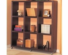 Cube Bookcase with Casters