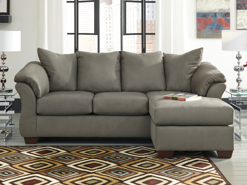 Darcy Sofa Chaise 75005 By Ashley Furniture Dallas