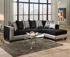 Darko Blanco Sectional # 4124-06