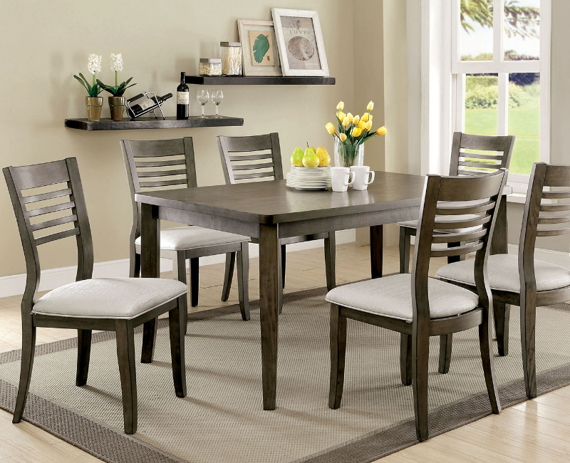 Dwight iii collection 5 pc set by furniture of america for 3 pc dining room set