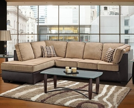 Emerson Brown Taupe Sectional