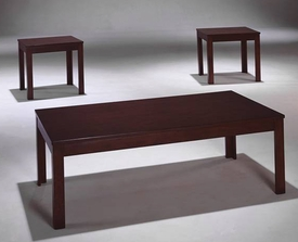 Espresso 3-Pc Coffee Table Set