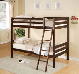 Espresso Finish Bunk Bed
