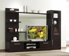 Espresso Finish Entertainment Set
