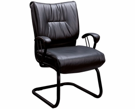 Faux Leather Office Side Chair