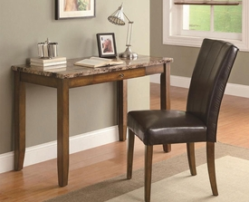 Faux Marble Writing Table & Chair Set