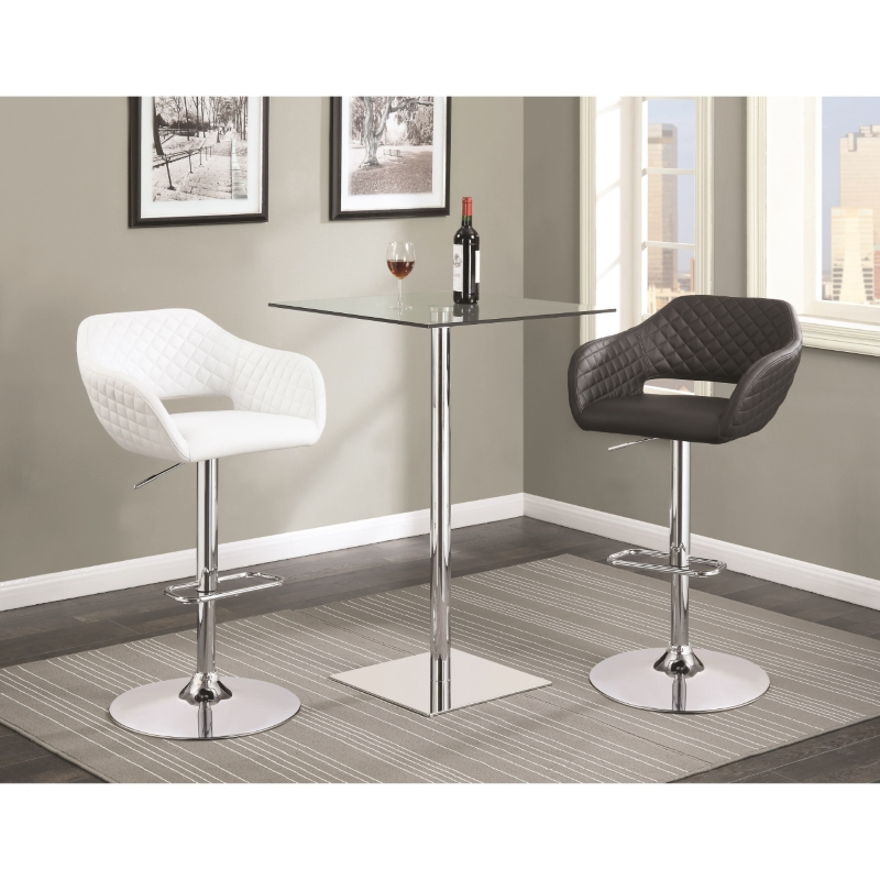 Gas Lift Bar Stool 100828 Dallas Designer Furniture 4 Less