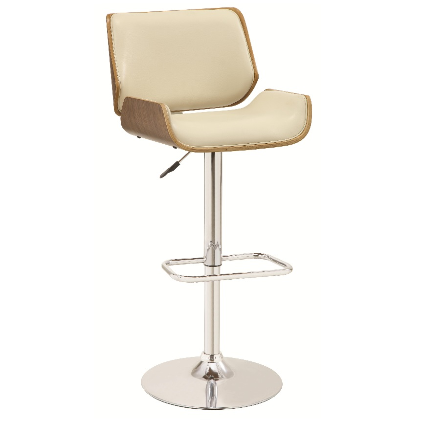 Gas lift Bar Stool Dallas Designer Furniture 4 Less