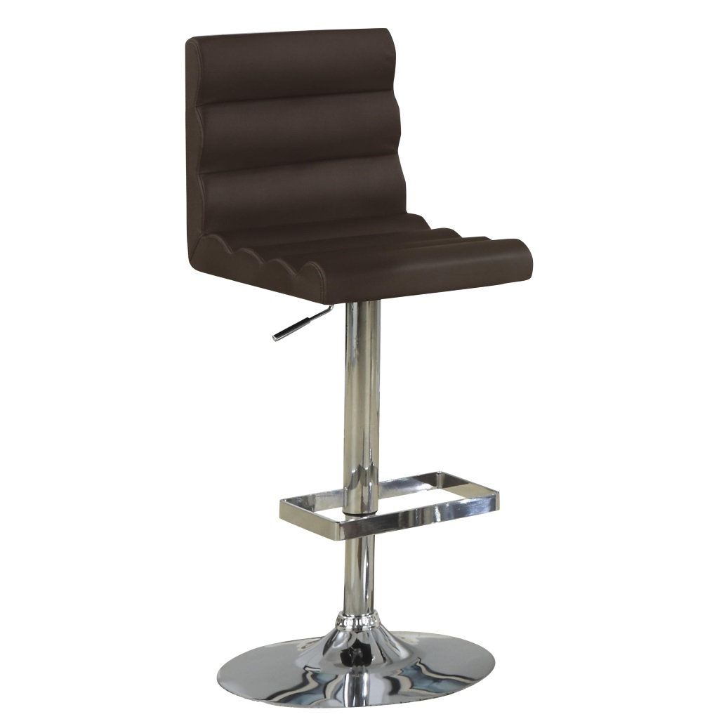 Gas lift Bar Stool # 120355 - Dallas Designer Furniture 4 Less