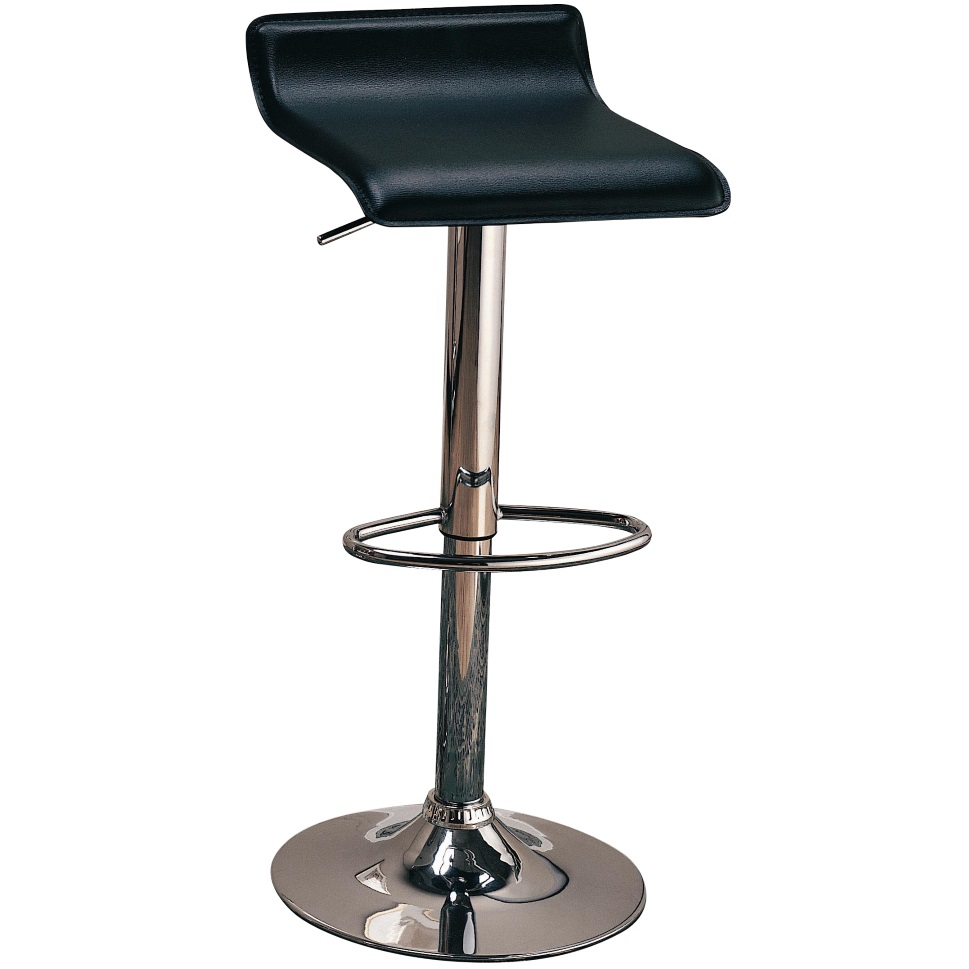 Gas lift bar stool 120390 dallas designer furniture 4 less for Designer chairs for less
