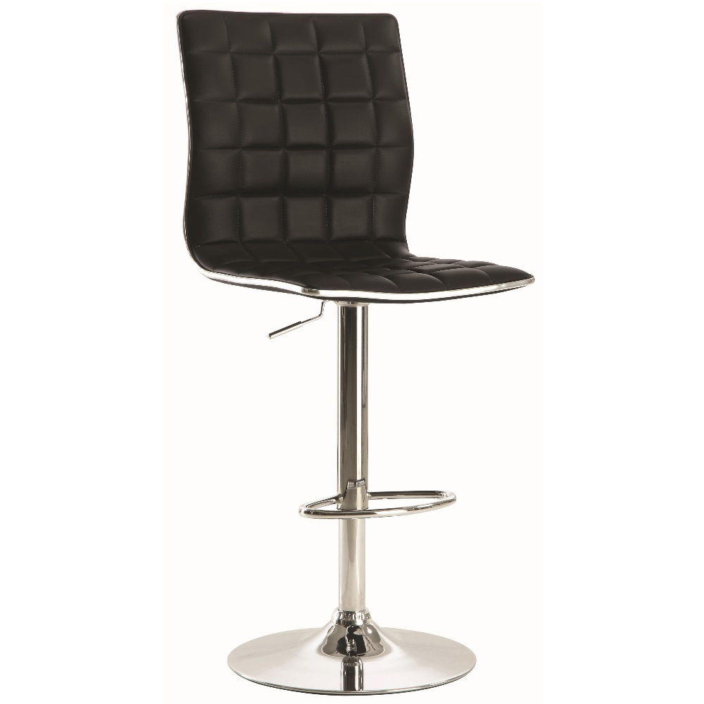 Gas lift bar stool 122087 dallas designer furniture 4 less for Designer chairs for less