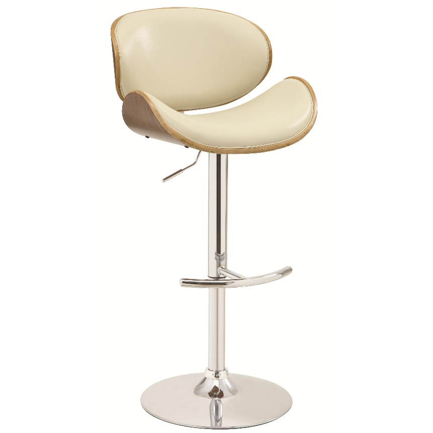 Gas lift bar stool 130505 dallas designer furniture 4 less for Designer chairs for less