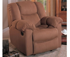 Grace Microfiber Rocker/Recliner